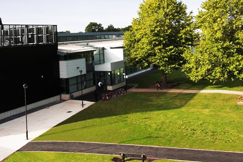 Exterior photo of Bromsgrove campus