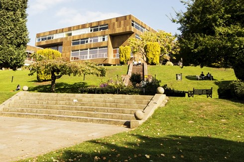 Exterior photo of Worcester Campus