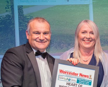 HoW College wins provider of the year at the Worcestershire Education Awards!