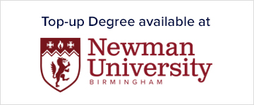 Top-up Degree available at Newman University Birmingham