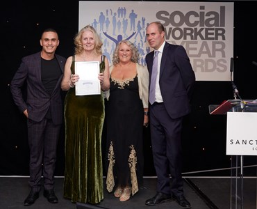 HoW College's Social Work Lecturer wins Silver at national awards