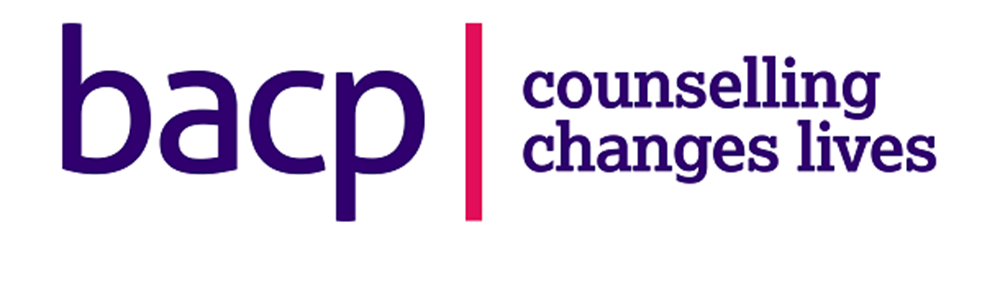 Company logo reading: BACP, Counselling changes lives